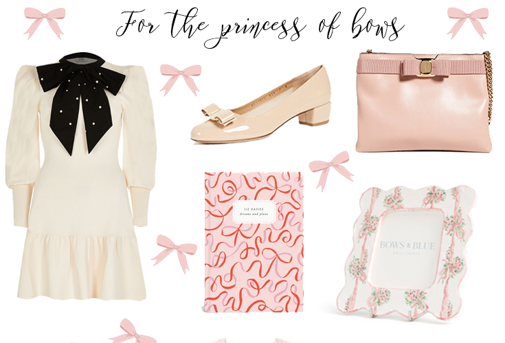 Christmas gift guide: For the princess of bows.
