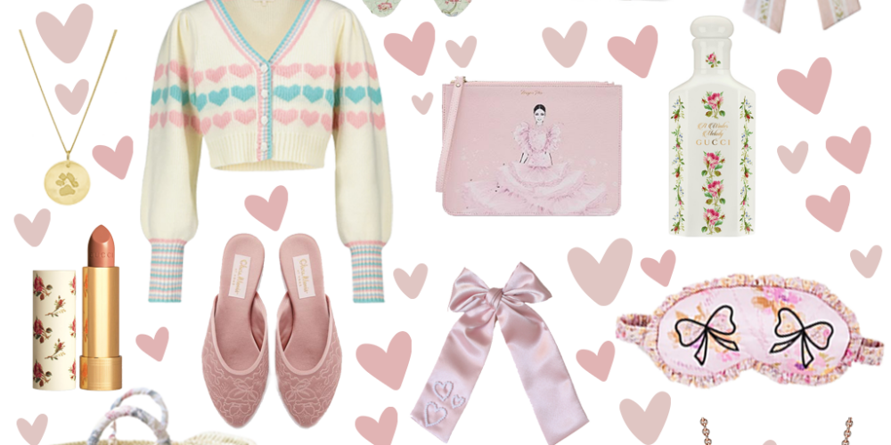Girly Valentine's gift guide 2021.